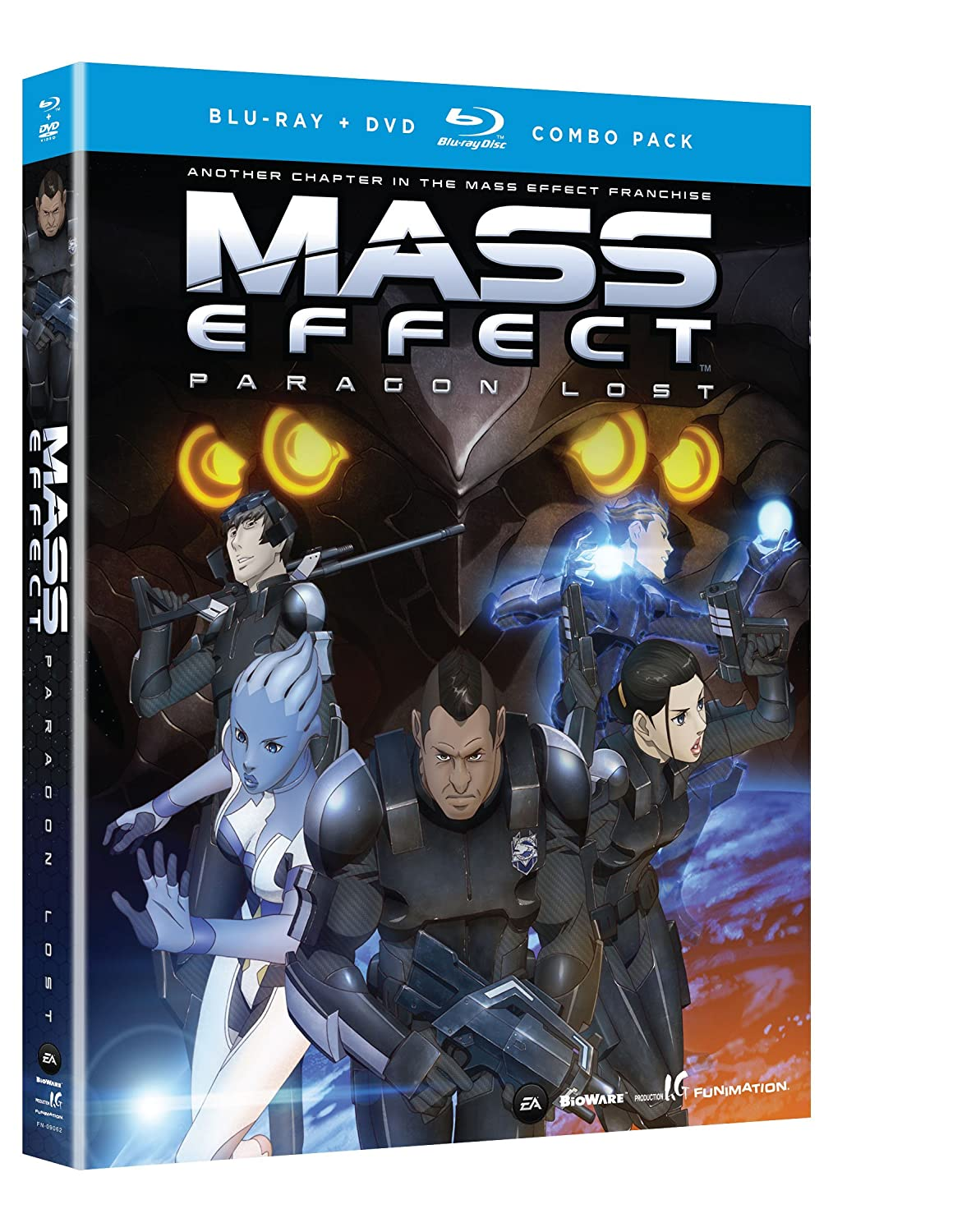 Amazon com mass effect paragon lost blu ray dvd combo freddie prinze jr monica rial vic mignogna justin cook movies tv