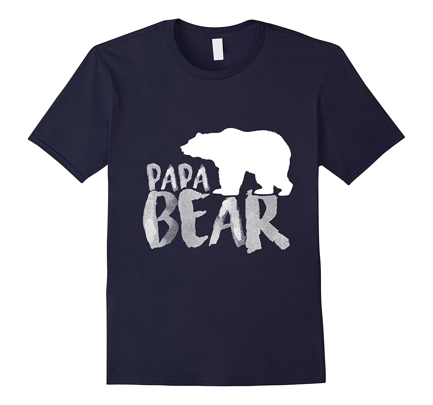 Mens Papa Bear Family Tulioct T-Shirt – Gift for father day