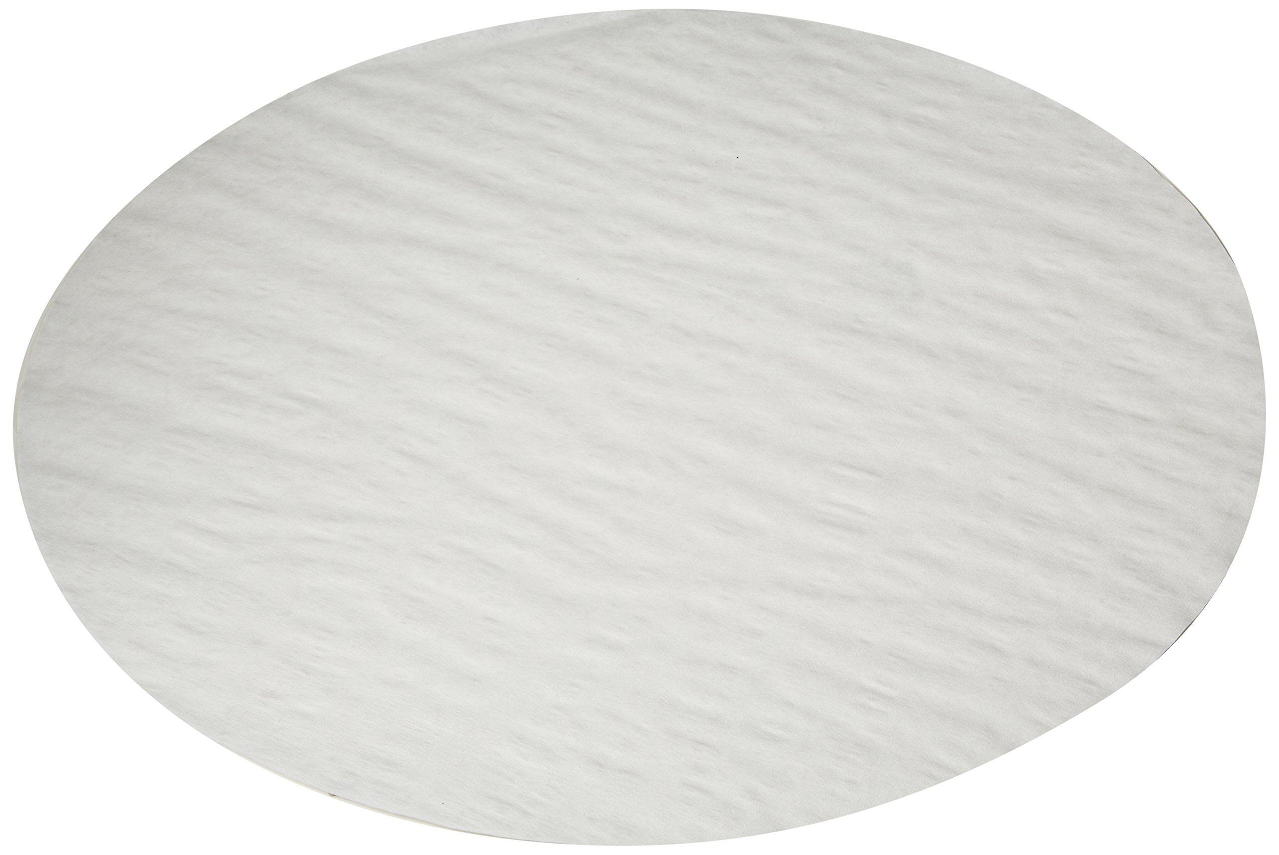GE Whatman 10347525 Cellulose Qualitative Standard Filter Paper for Technical Use, Shark Skin Grade, Circle, 500mm Diameter (Pack of 100)