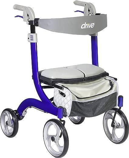 Amazon.com: Drive Medical Nitro DLX Euro Style Andador ...