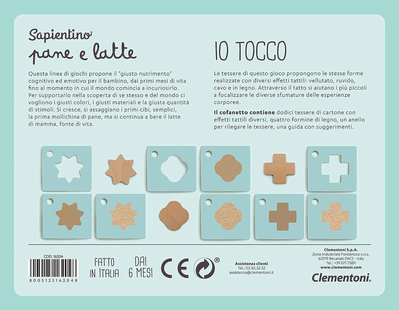 16204 Gioco Primi Mesi Clementoni-16204-Sapientino Pane e Latte-Io Tocco Multicolore