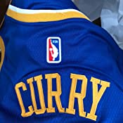 Amazon.com : Stephen Curry Golden State Warriors #30 Blue Youth