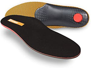Pedag Worker, German Quality Orthotic Foot Support Insole for Outdoor, Construction and Cowboy Boots, US Size Men 13/EU 46