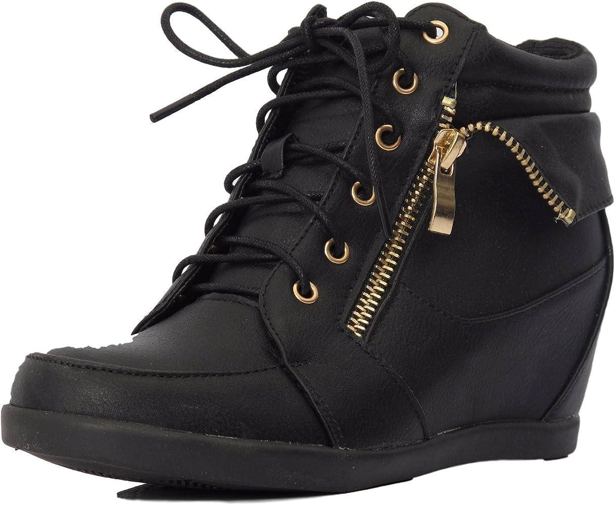 Top Wedge Sneaker Bootie