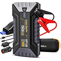 Tacklife 1200A Peak Car Jump Starter KP120 for up to 8L Gas and 6L Diesel Engines