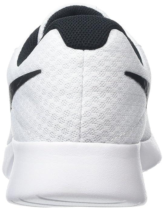 Amazon.com   Nike Womens Nike Tanjun White/Black Running Shoes Size 10   Fashion Sneakers
