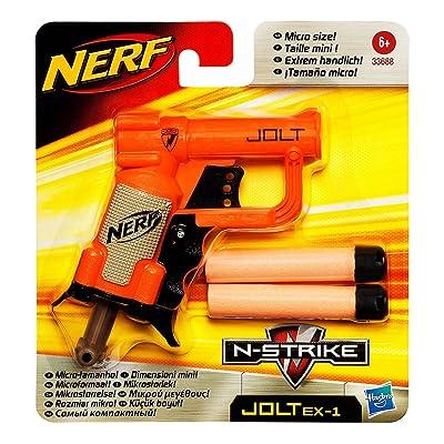 Nerf N-Strike Jolt Blaster (orange): Toys & Games