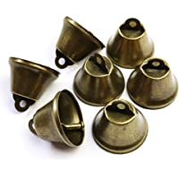 SBYURE 30 Pcs 38mm//1.5inch Vintage Bronze Jingle Bells for Dog Doorbell /& Potty Training,Making Wind Chimes,Housebreaking,Christmas Decoration and etc