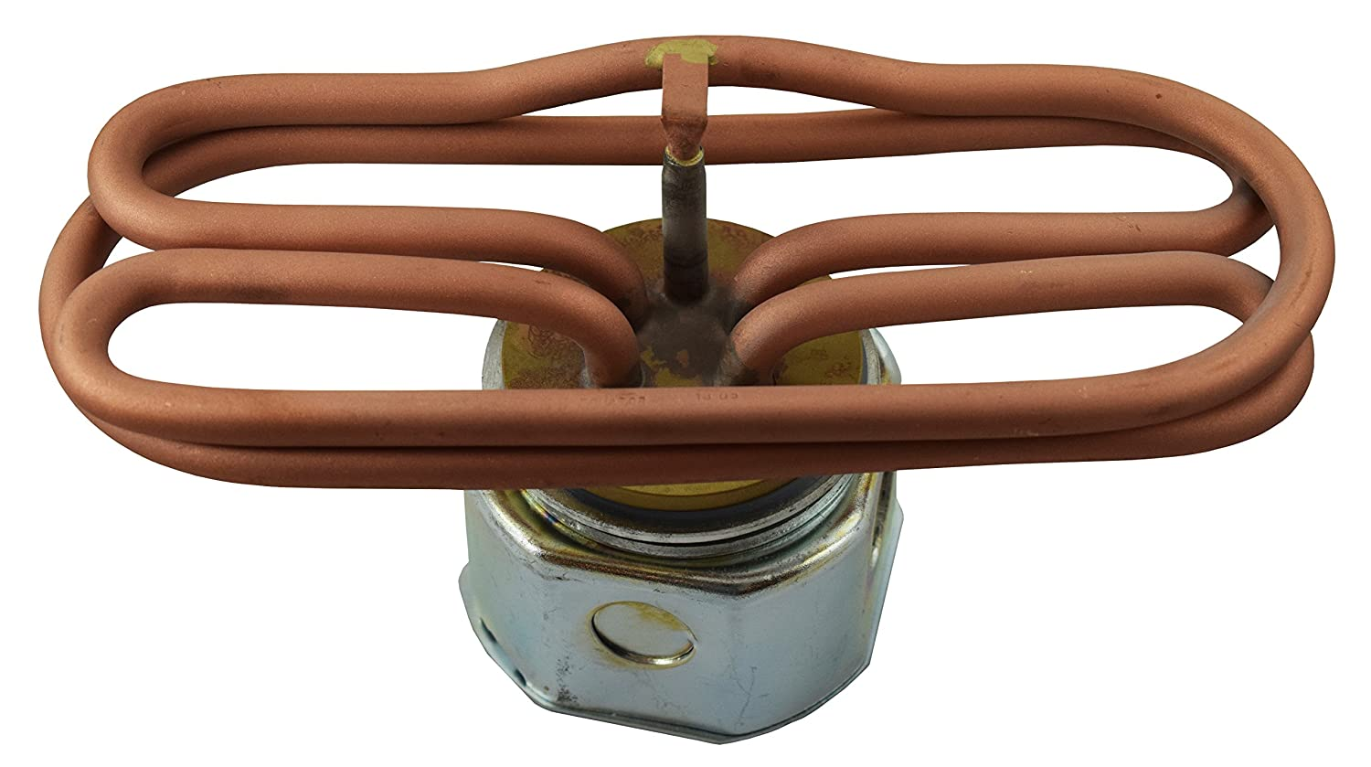 Commercial Electric Water Immersion Heating Element Brass (6000 Watt)
