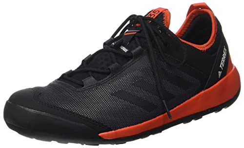 adidas Terrex Swift Solo, Scarpe Sportive Outdoor Uomo, Nero Core Black/Energy,