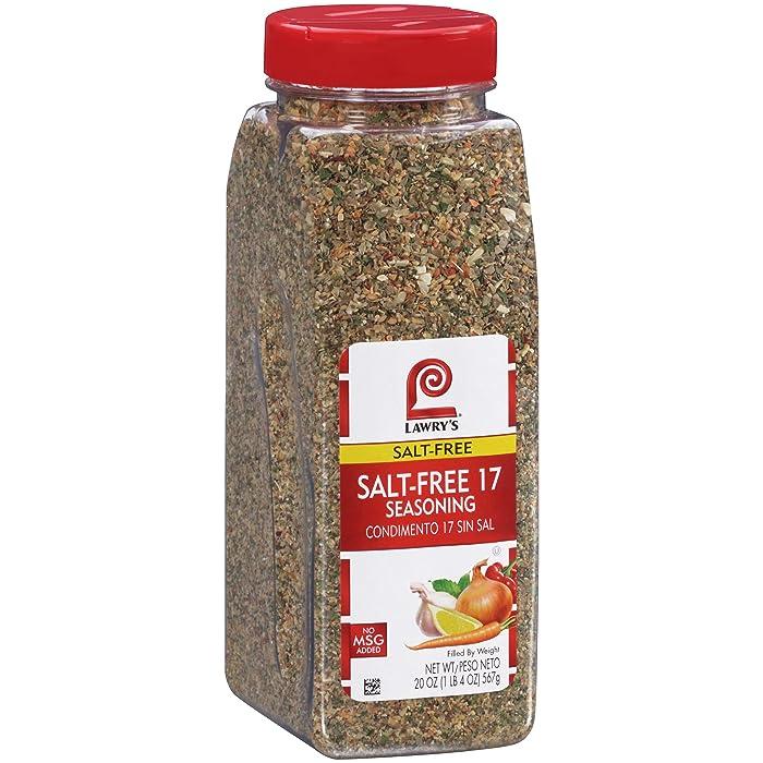 Lawry's Salt Free 17 Seasoning, 20 OZ