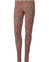 adidas Originals Women's Python Print Graphic Leggings