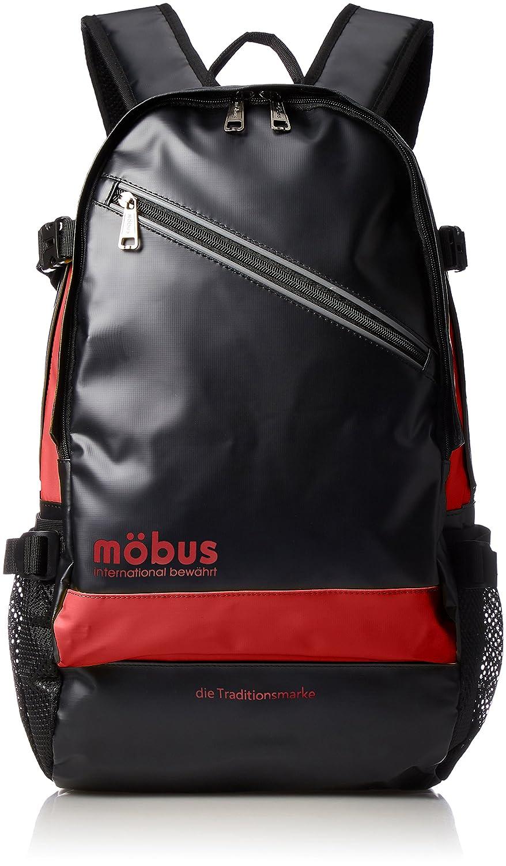 [モーブス] リュックサック 多機能バックパック MBX506N B075K3HJ9T ブラック/レッド ブラック/レッド