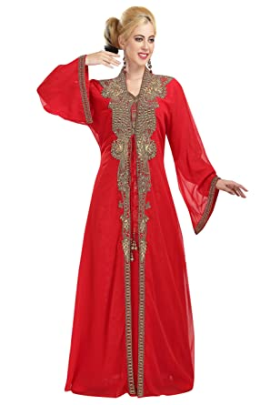 Maxim Creation Robe - Femme Rouge Red - Rouge - - 9dabff073a8
