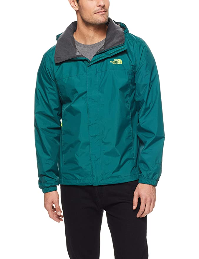 The North Face Men's Resolve 2 Jacket - Botanical Garden Green & Botanical Garden Green - S best men's raincoats