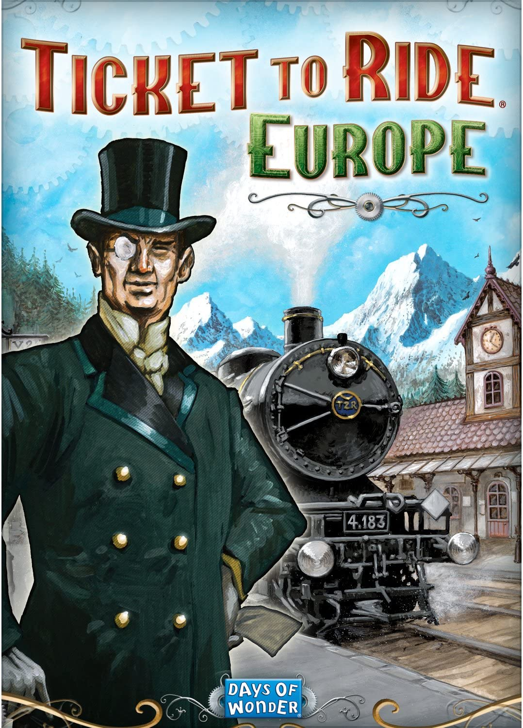 Amazon com: Ticket to Ride: Europe DLC [Download]: Video Games
