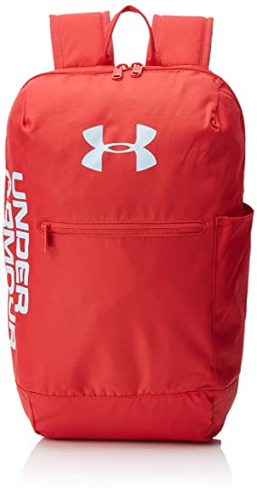 Under Armour UA Patterson Backpack Mochila, Unisex Adulto, Rojo Barn/Coded Blue 633, Talla única: Amazon.es: Deportes y aire libre