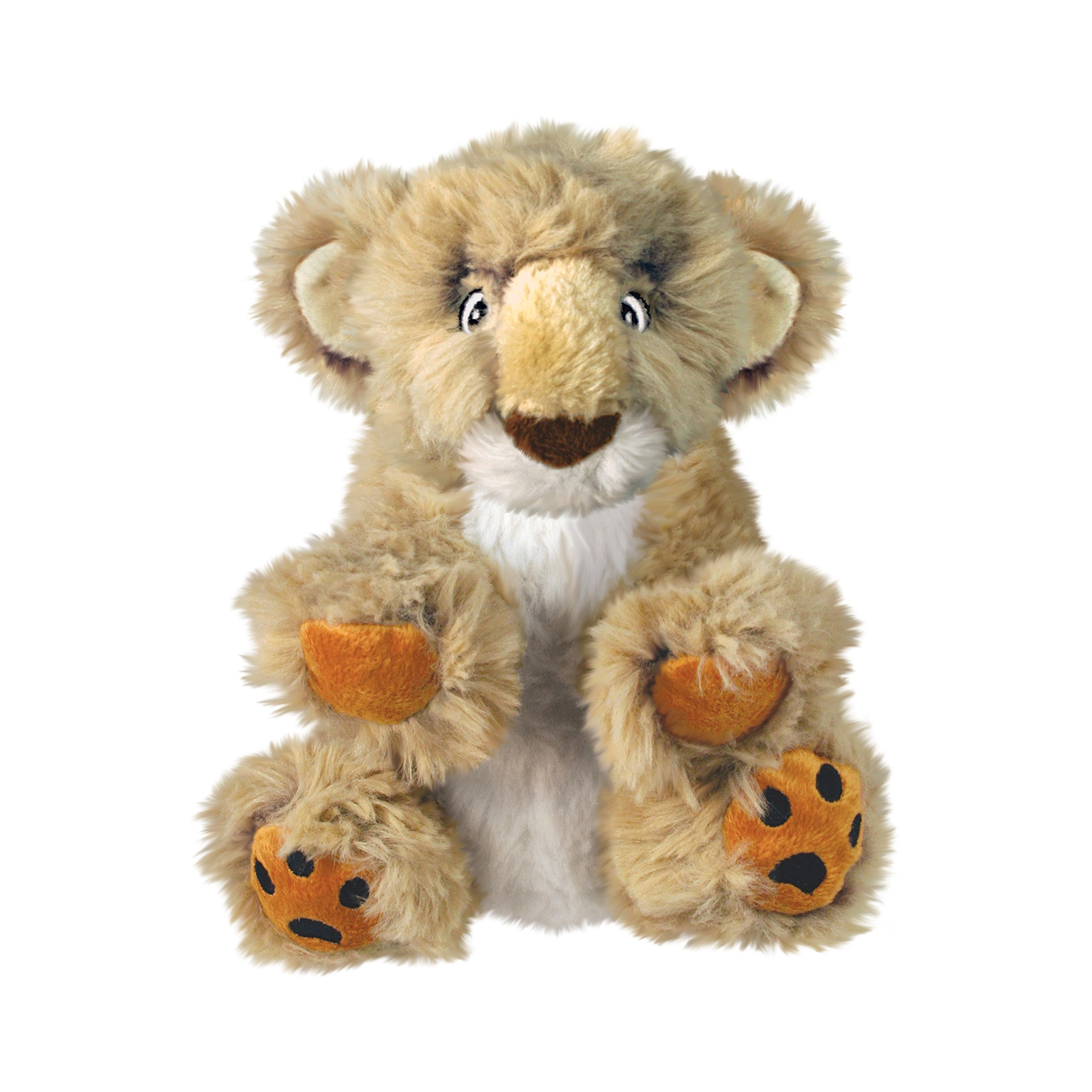 KONG Comfort Kiddos Lion Dog Toy, Large
