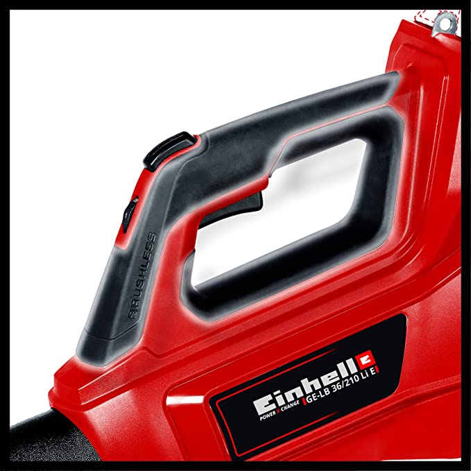 Einhell 3433620 Soplador de Hojas a batería, Rojo, Negro ...