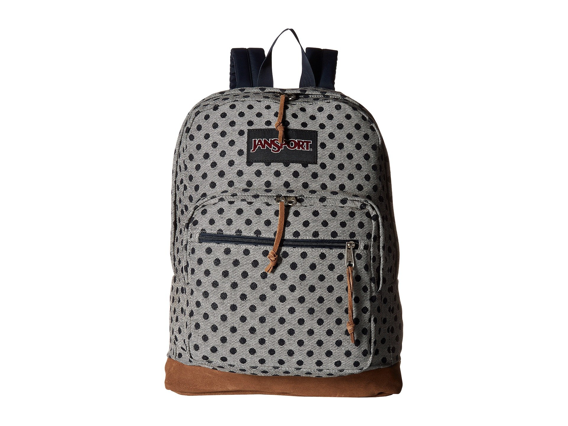 JanSport Unisex Right Pack Expressions Silver Twiggy Dot Jaquard One Size