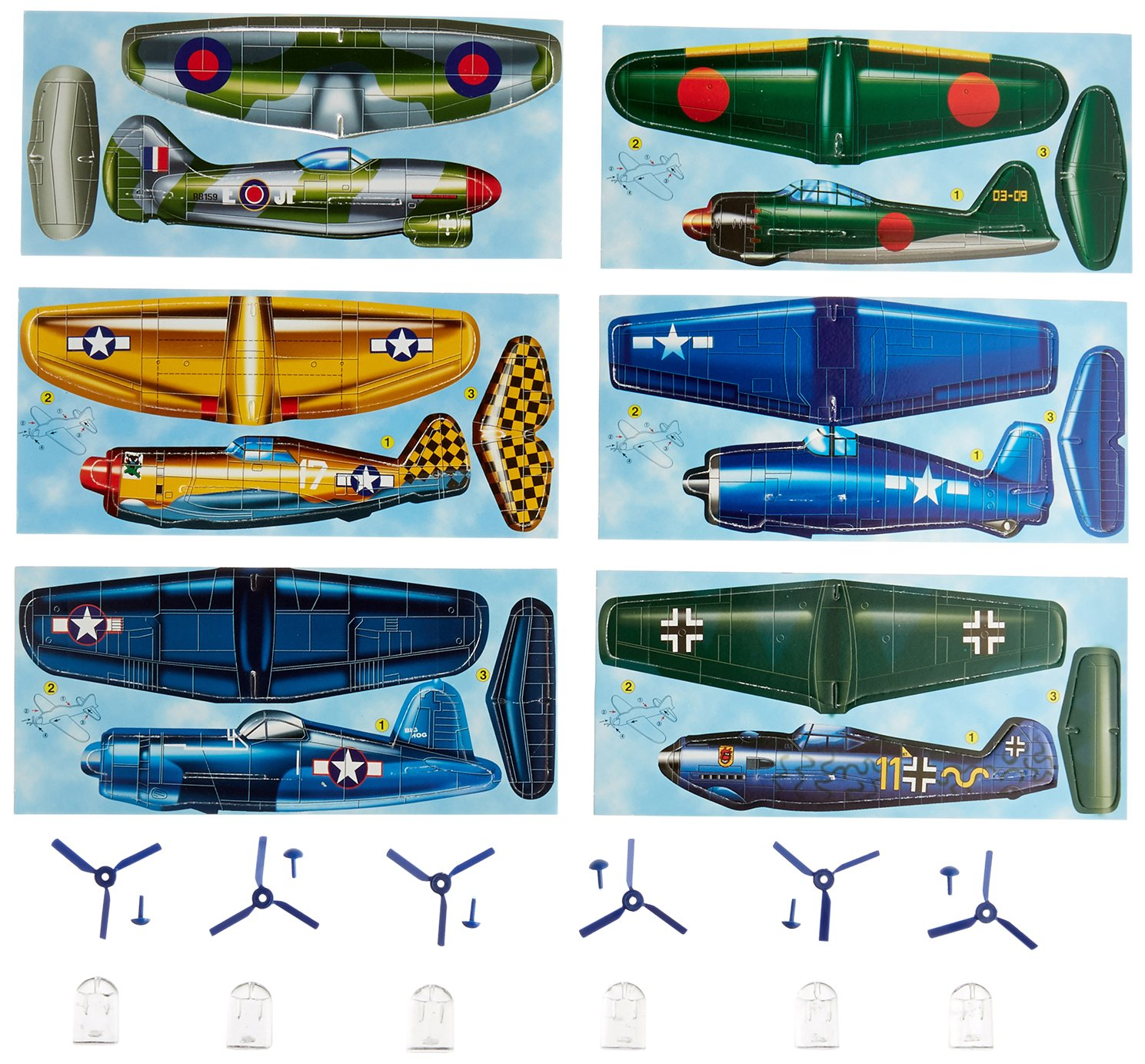House of Marbles Fighter Planes Kit 222024