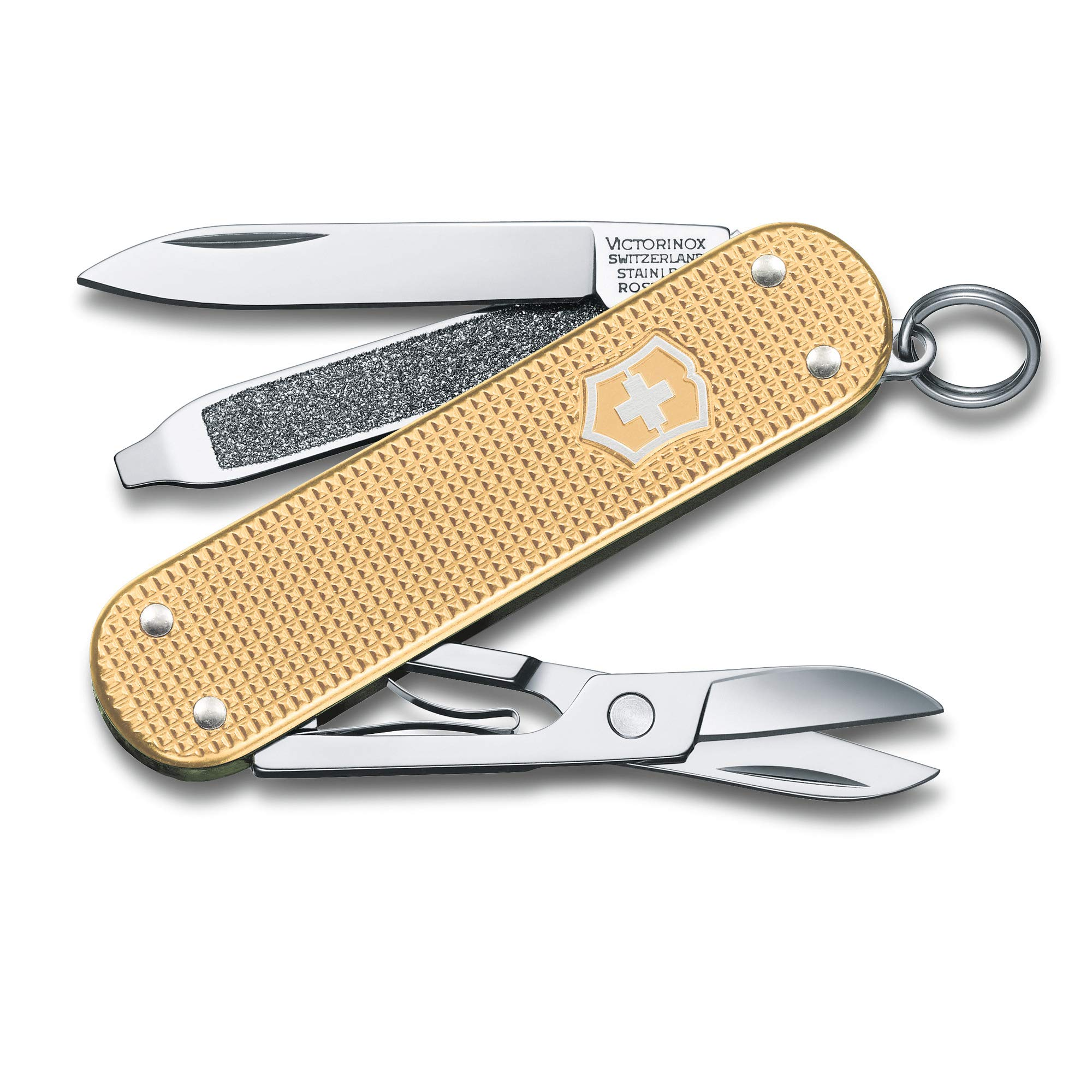 Victorinox Classic SD Champagne Gold Alox 2019 Limited Edition Swiss Army Knife