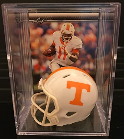 02f27c28ba8 Image Unavailable. Image not available for. Color: Tennessee Volunteers  NCAA Helmet Shadowbox w/ ...