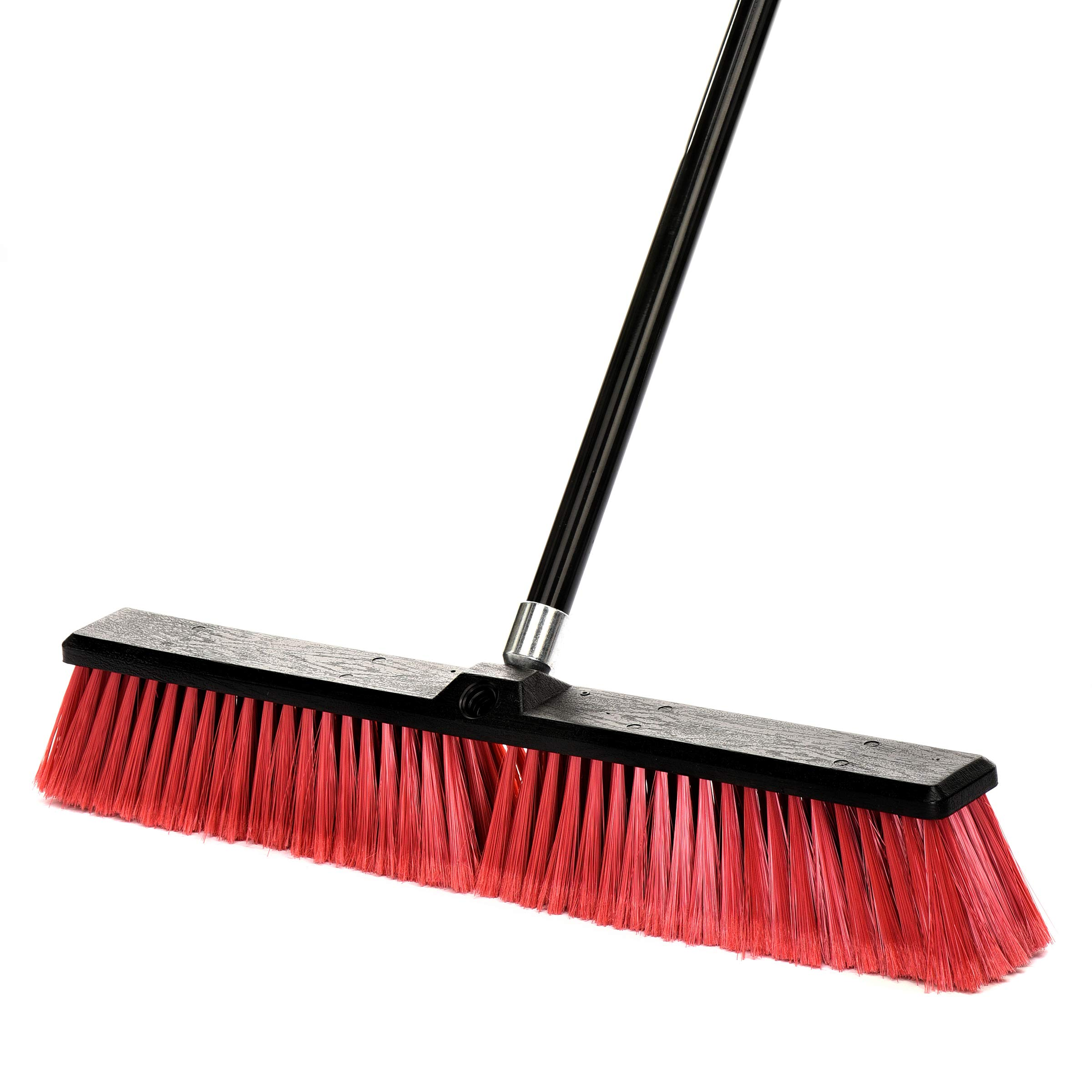 Alpine Industries Smooth Surface Push Broom (24 Inch)