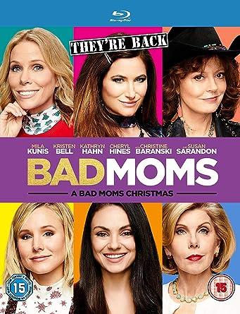 Bad Moms Christmas Susan Sarandon.A Bad Moms Christmas Blu Ray Amazon Co Uk Mila Kunis