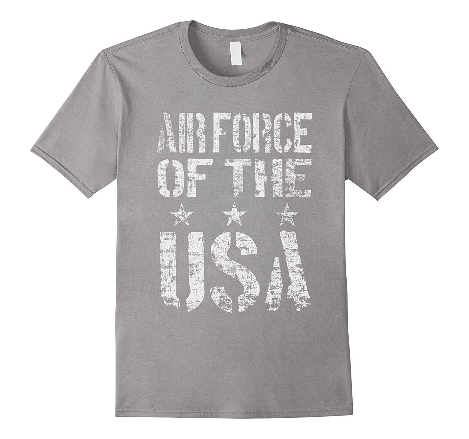 Air Force of The USA Proud Distressed T-shirt-CD