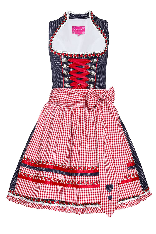 Krüger MADL Damen Dirndl Kleider 40535, Mini
