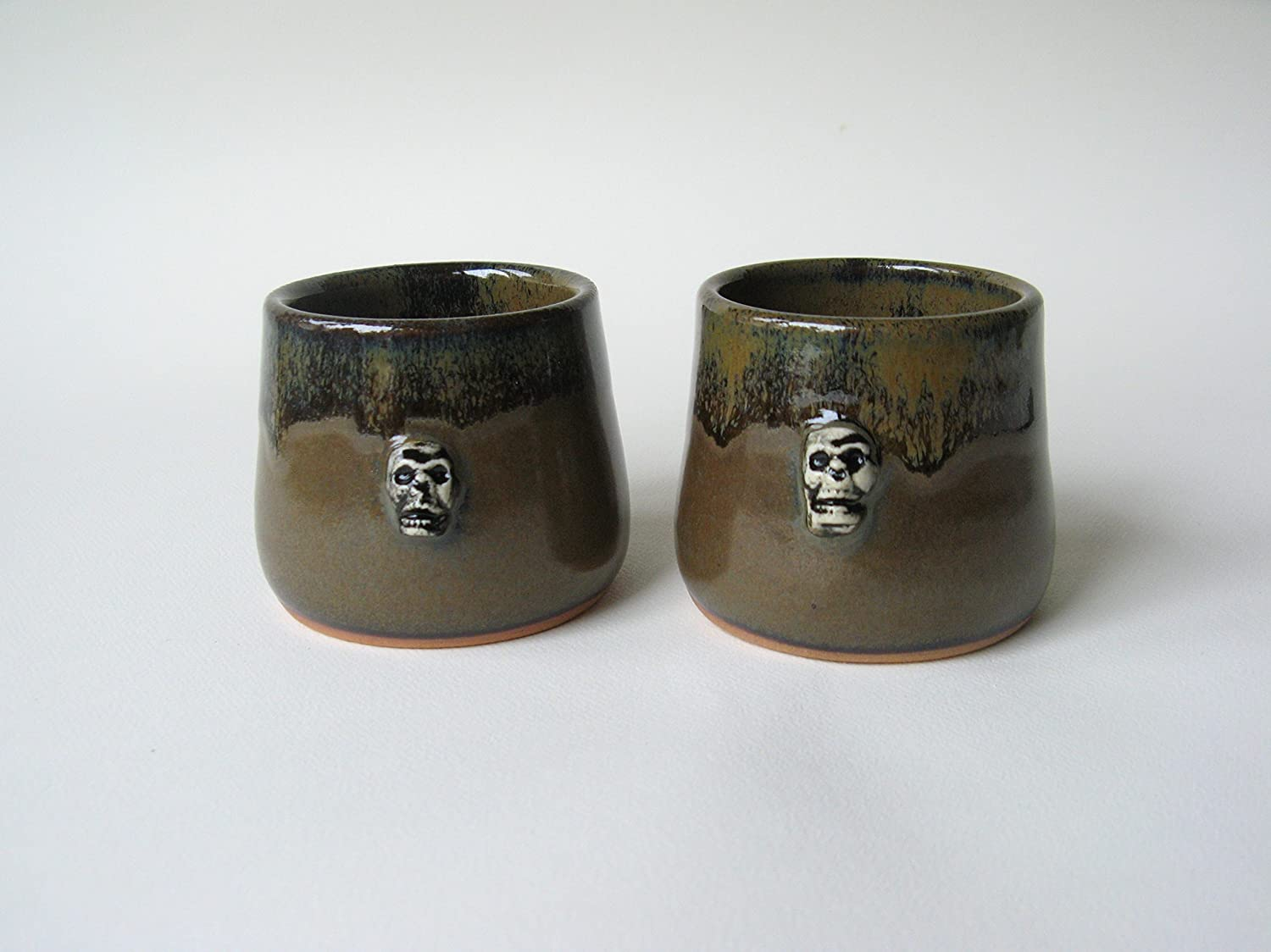 Skull Whiskey Cups Set of 2
