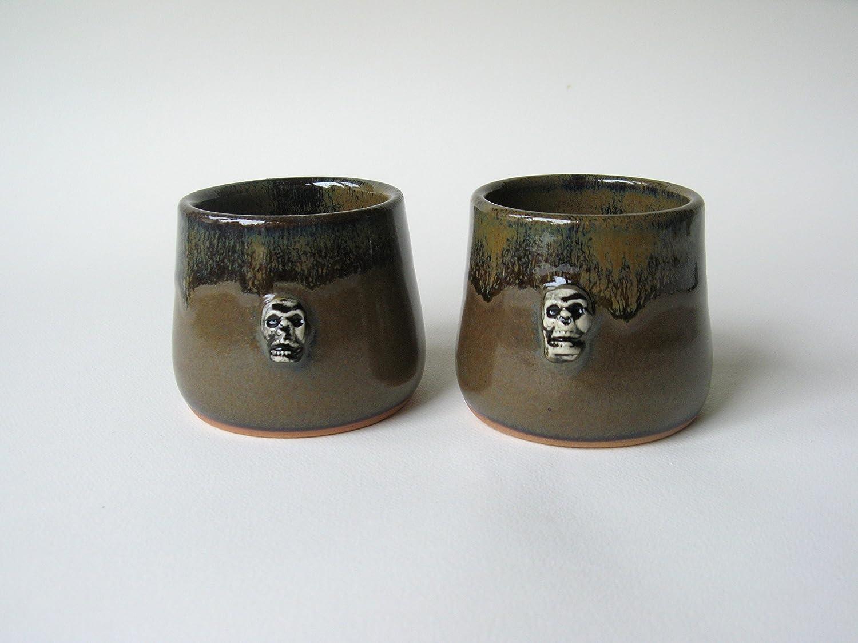 Skull Whiskey Cups Set of 2