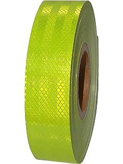 lfm x 50mm 3M™ Reflexband Diamond Grade™ RA3//C 4080 Reflexfolie fluoreszierend