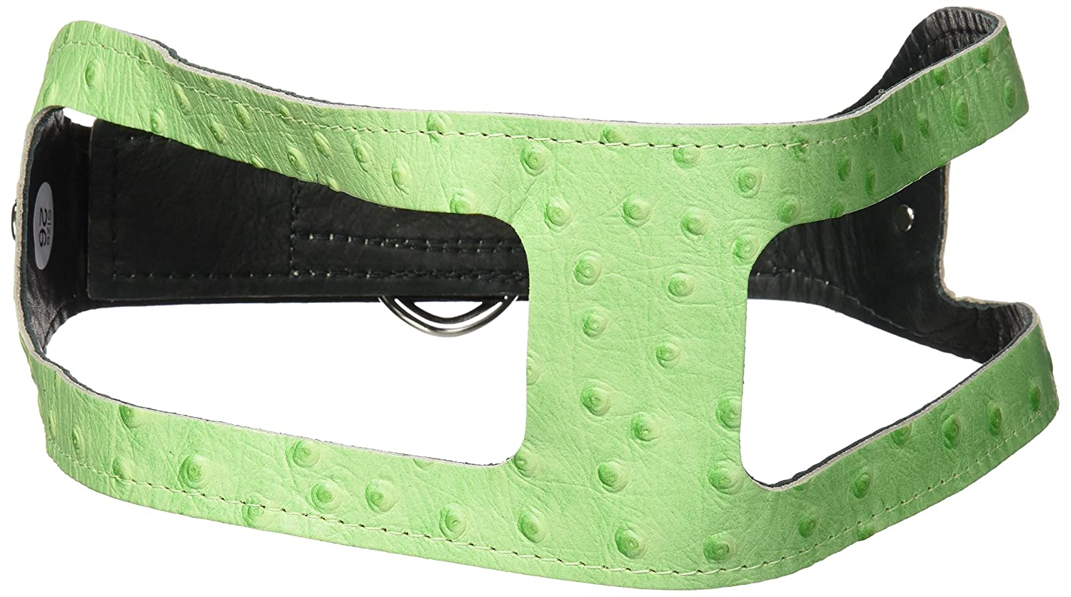 Ostrich Lime Green 26 ChokeFree Pet Shoulder Collar, 27Inch, Non Metallic Baby bluee