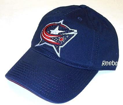 Reebok Columbus Blue Jackets Structured Flex Hat L//XL TX76Z
