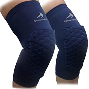 CompressionZ Padded Knee Sleeves