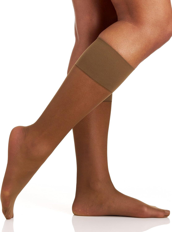 Berkshire Plus Size Comfy Cuff Opaque Compression Trouser Hosiery Women/'s