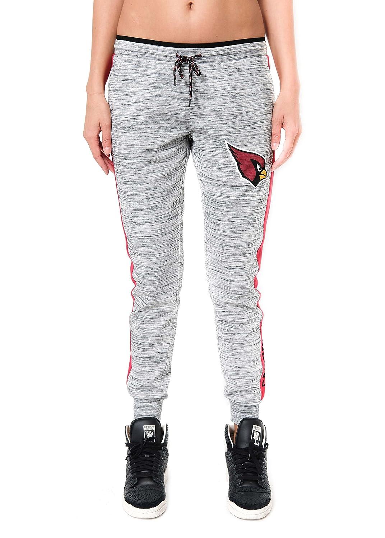 80ed6ada ICER Brands NFL Women's Jogger Pants Active Basic Fleece Sweatpants, Gray