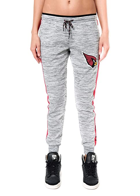 936065e8f245 ICER Brands NFL Arizona Cardinals Women s Jogger Pants Active Basic Fleece  Sweatpants