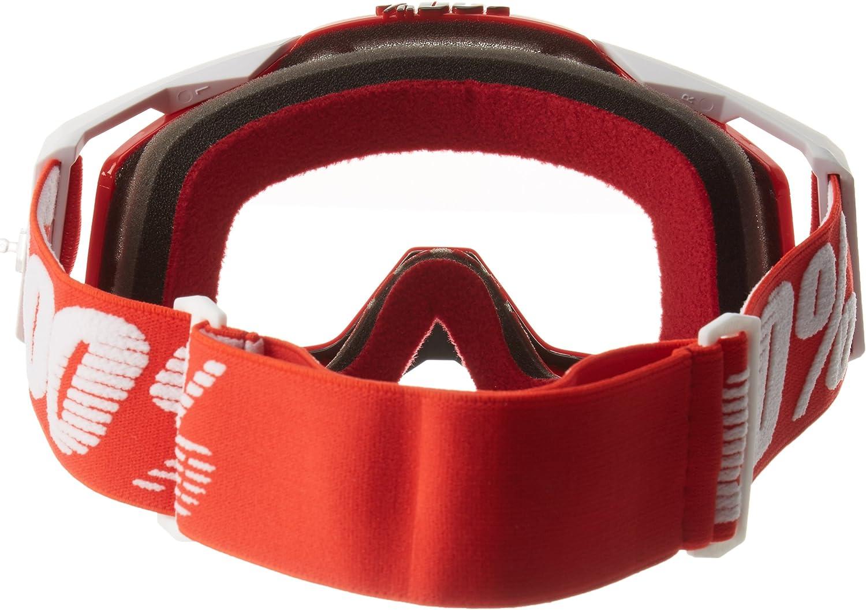 Talla /Única Adulto Unisex Red Rojo 100/% RACECRAFT Goggle Gafas de Sol Accesorios Deportivos