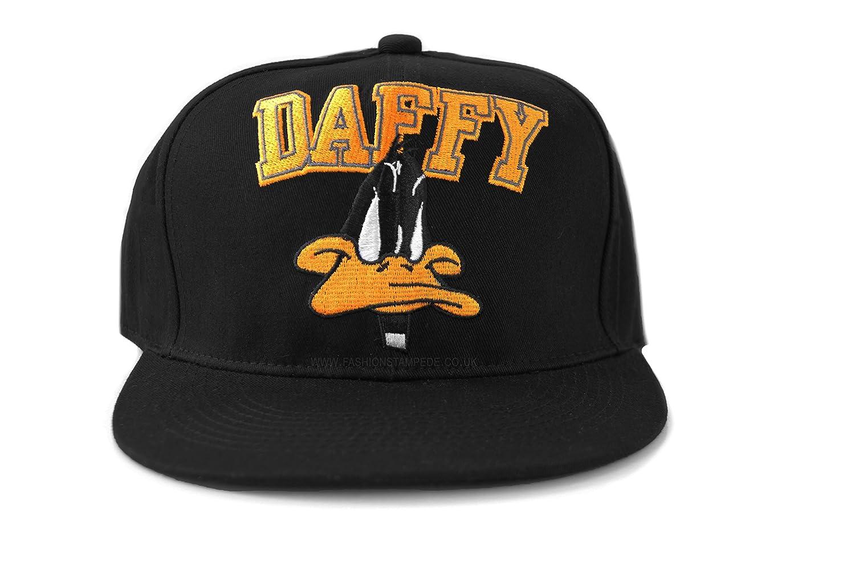 Daffy Duck Snapback Unisex One Size Baseball Caps. Warner Brothers Original  Offical Licensed Daffy Duck Logo Cap 3aa95797116