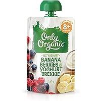 Only Organic Banana Berries & Yoghurt Brekkie 8+ Months - 120g