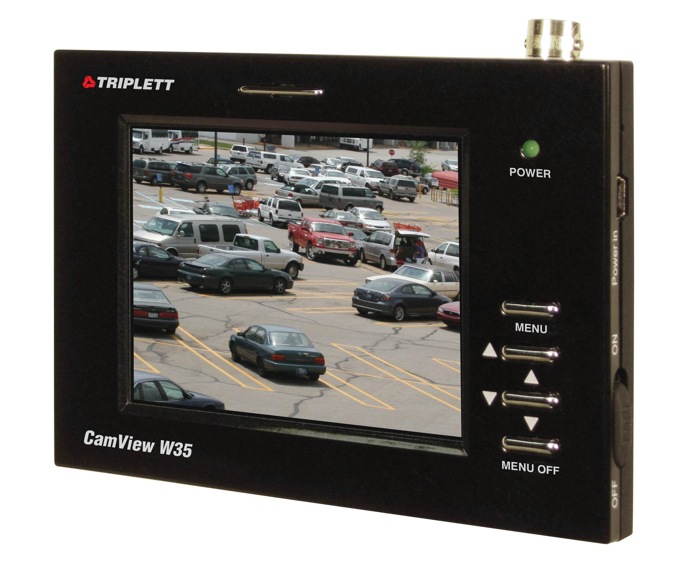 Triplett 8050 CamView W35 Security Camera Wrist Monitor with 3.5-Inch LCD (Black)