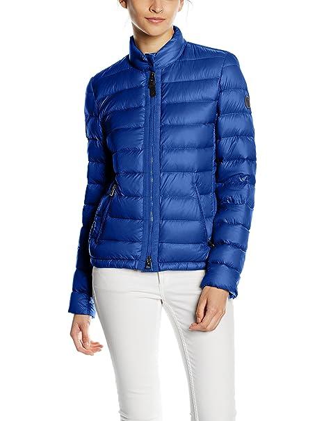 51b466efd4ba Marc O Polo Damen Jacke, Blau (Pacific Blue 853), 42  Amazon.de ...