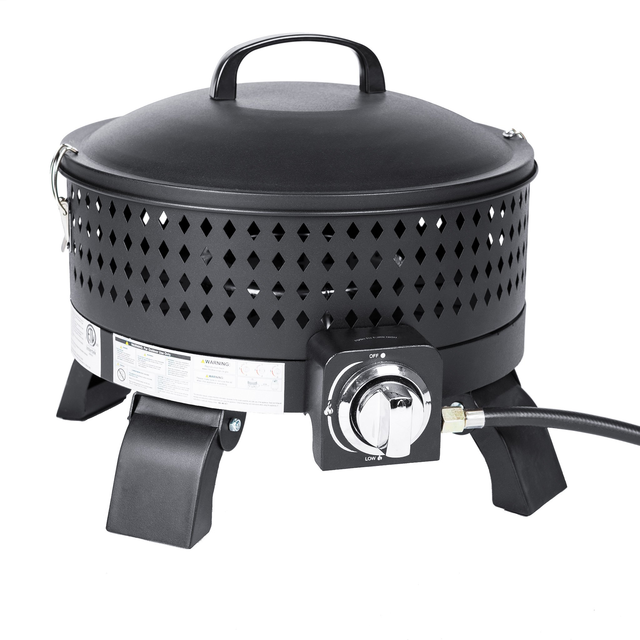 Portable Campfire Gas Fire Pit