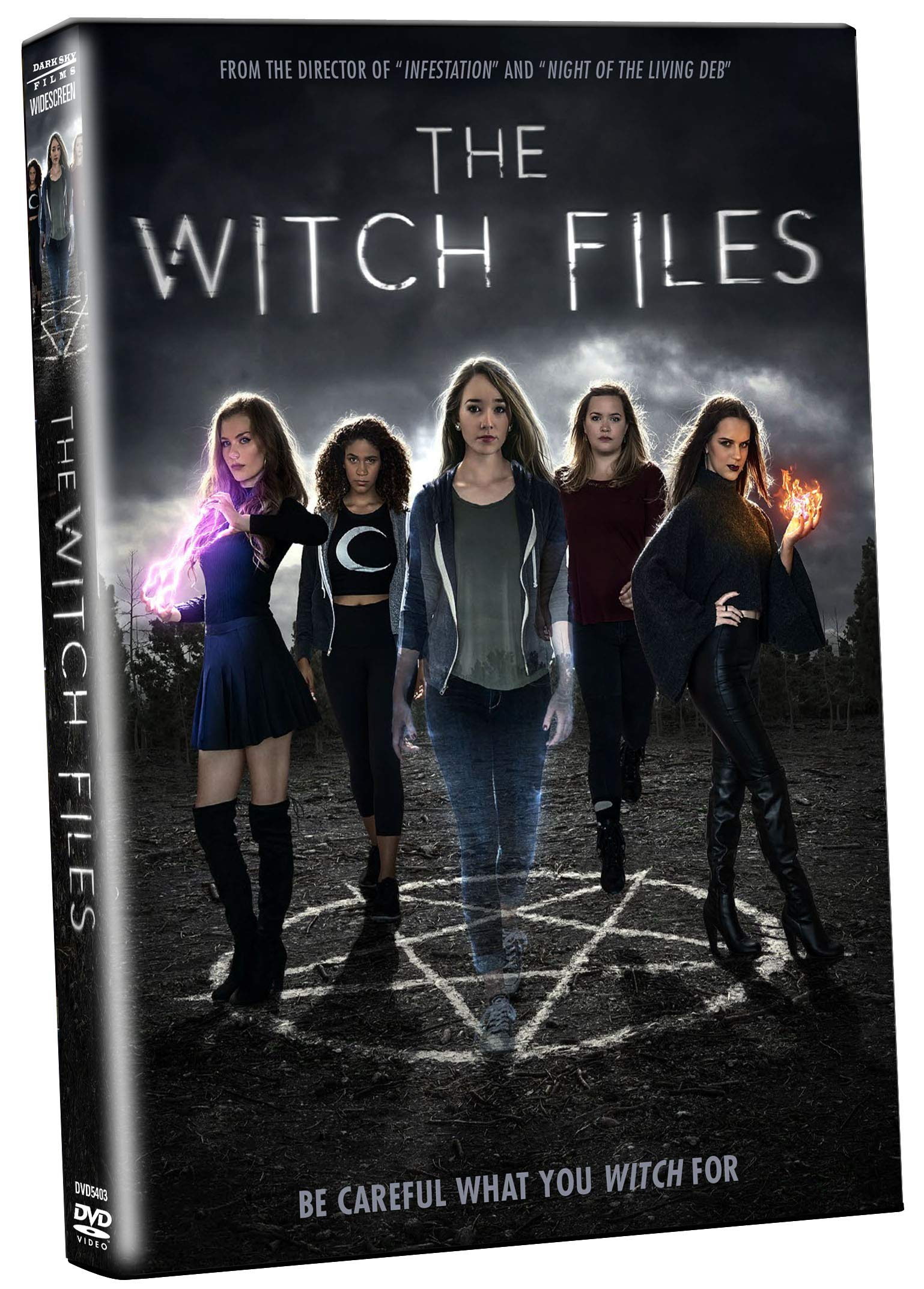 Book Cover: The Witch Files