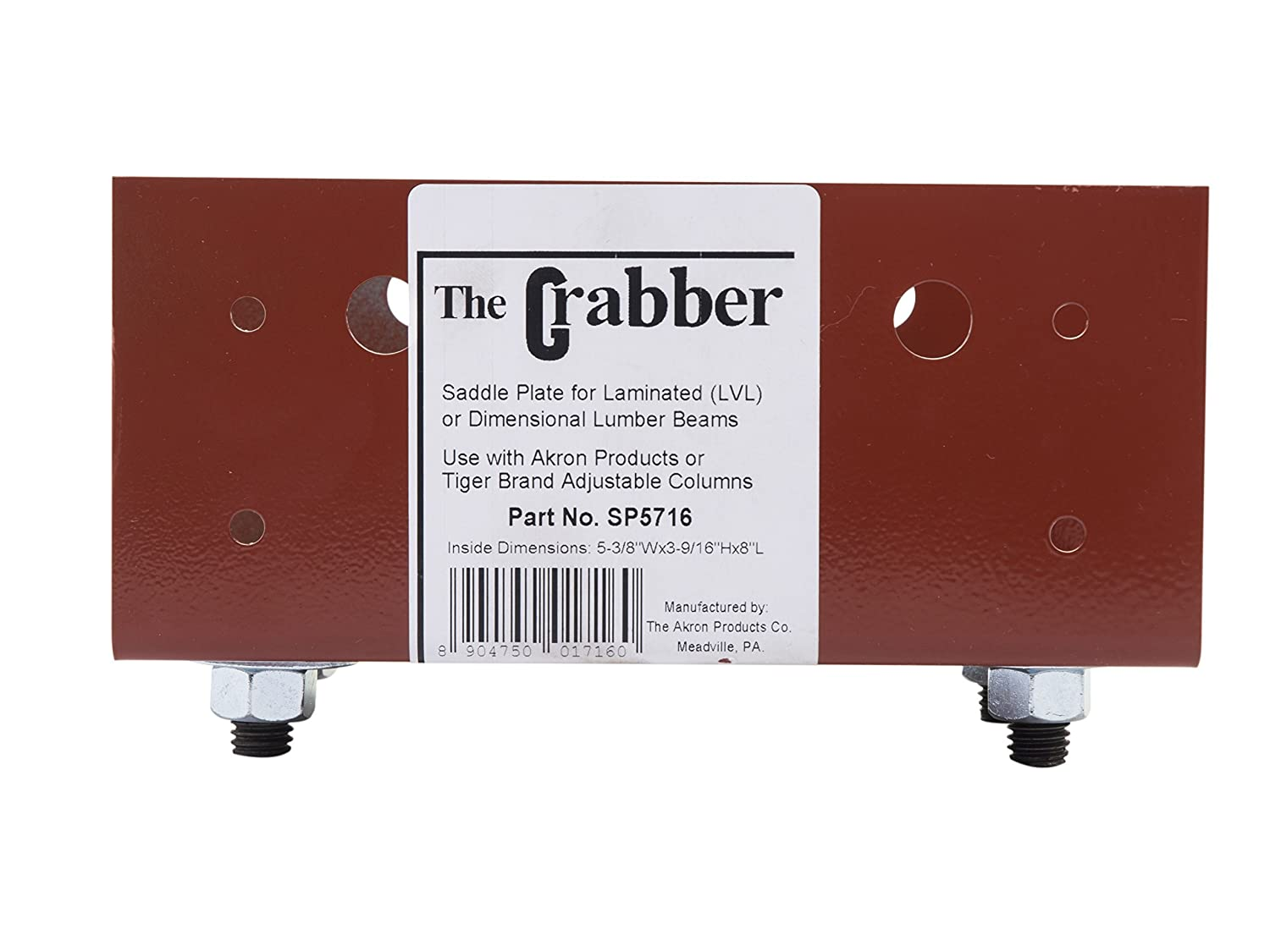 Shelf Bracing Pack of 2 Prime-Line Products EP 16096 Brown in Color Plastic Construction 3//16 Inch w//Fasteners