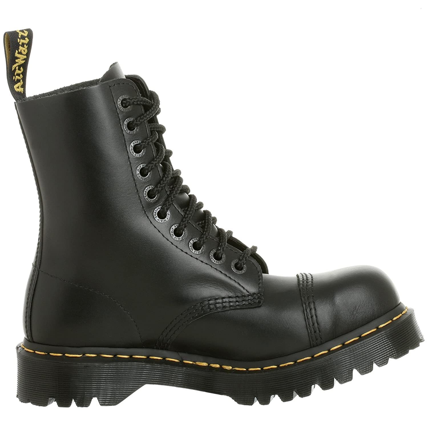 Dr. Martens Men's/Women's 8761 Boot B0009BV4M8 5 UK/M 6- W 7 M US|Black Fine Haircell