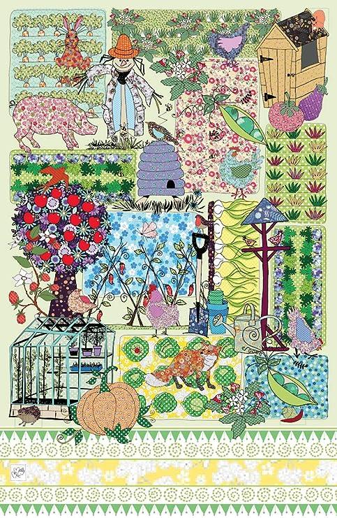 MollyMac Toalla para jardín, Bonita decoración para el hogar ...